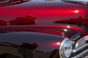 Red & Maroon Custom Car